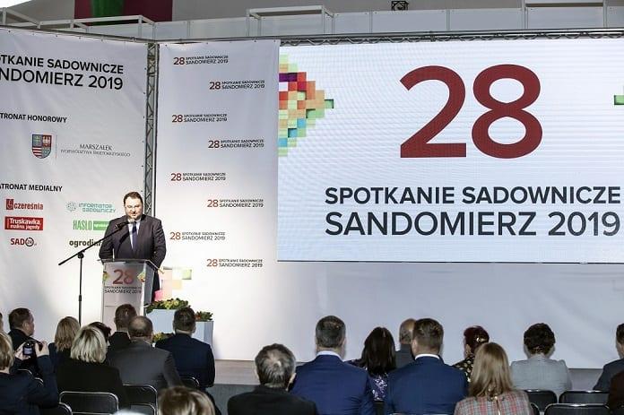 28 Spotkanie Sadownicze Sandomierz - uroczyste otwarcie - Marek Kawalec Leaf Media