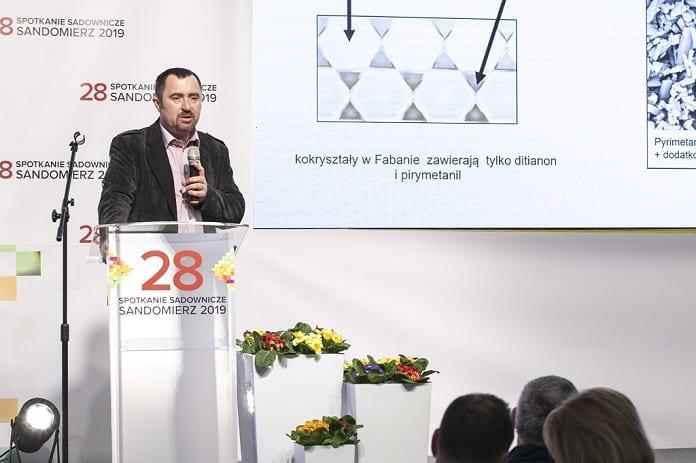 Wykład prowadzony przez producentów środków produkcji - prezentacja firmy BASF