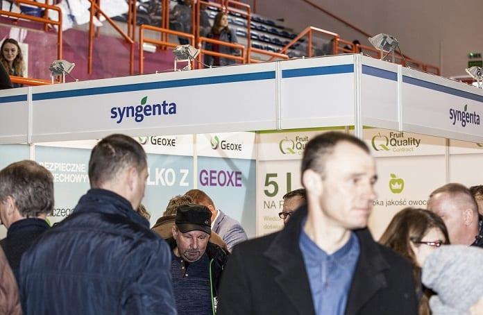 Stoisko firmy Syngenta