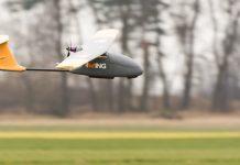 Drony w sadownictwie