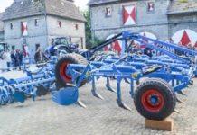 Niebieski sprzęt w Willebadessen