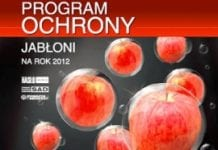 Program ochrony jabłoni na rok 2012