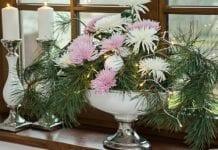 Boże Narodzenie 2017: modne dekoracje kwiatowe