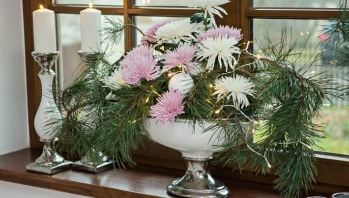 Boże Narodzenie 2017 Modne Dekoracje Kwiatowe Ogrodinfopl