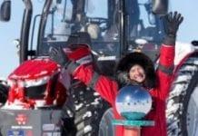 Ciągnik Massey Ferguson znów na biegunie południowym