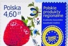 Truskawka kaszubska na znaczkach