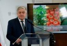 Przed strajkiem: ministerstwo o działaniach na rynku warzyw