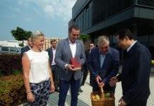 Chińska delegacja w Polsce
