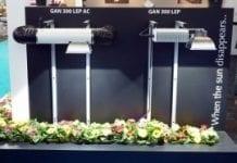 Lampa ogrodnicza w technologii plazmowej