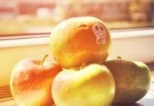 Jabłka w pociągach
