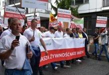 Kilka tysięcy niezadowolonych rolników w Warszawie