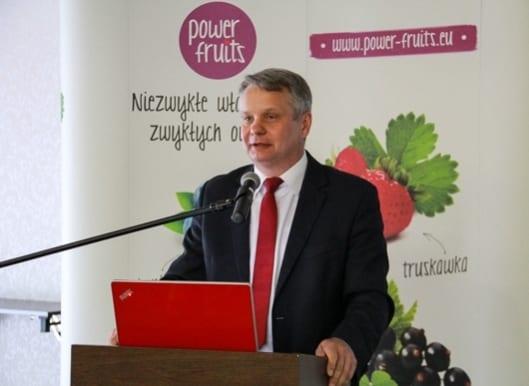 O kampanii promocyjnej mówił Mirosław Maliszewski