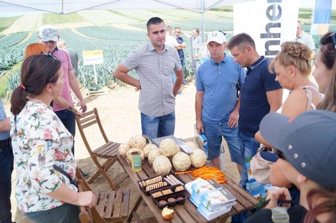 Spotkanie warzywnicze w Złotnikach cieszyło się dużym zainteresowaniem producentów pora i selera