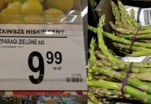 Biedronka. W ofercie tanie szparagi z Meksyku