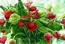 Kwiaty kuszą ludzi do rozsiewania ich pyłków