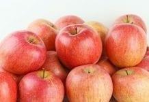 Małe zapasy jabłek w Szwajcarii