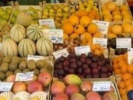 Rynek owoców w Niemczech