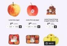 0,75 euro za sztukę. Ceny jabłek w holenderskich marketach