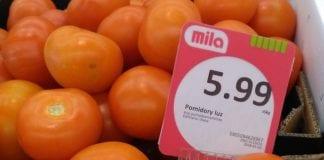 Niskie ceny polskich pomidorów w sieci supermarketów