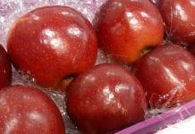 Francuskie jabłka w Chinach