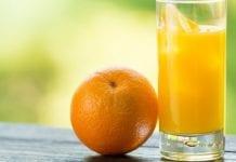 Spadek eksportu koncentratu pomarańczowego