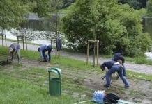 Drugi wolontariat w Ogrodach Polsko-Niemieckich
