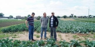 Zagraniczna wizyta w małopolskich gospodarstwach