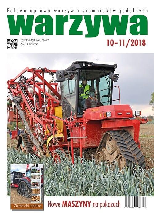 Warzywa numer 10-11/2018 duża okładka