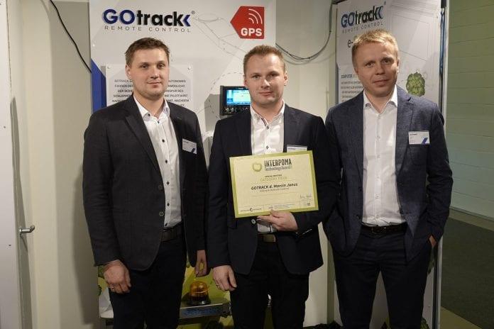 Firma GOTrack z wyrożnieniem Interpoma Technology Award