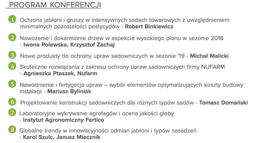 Program Konferencji 3 styczeń 2019