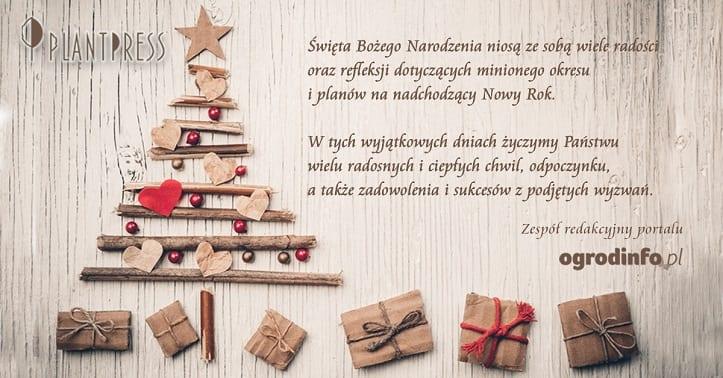 Życzenia Świąteczne Ogrodinfo.pl