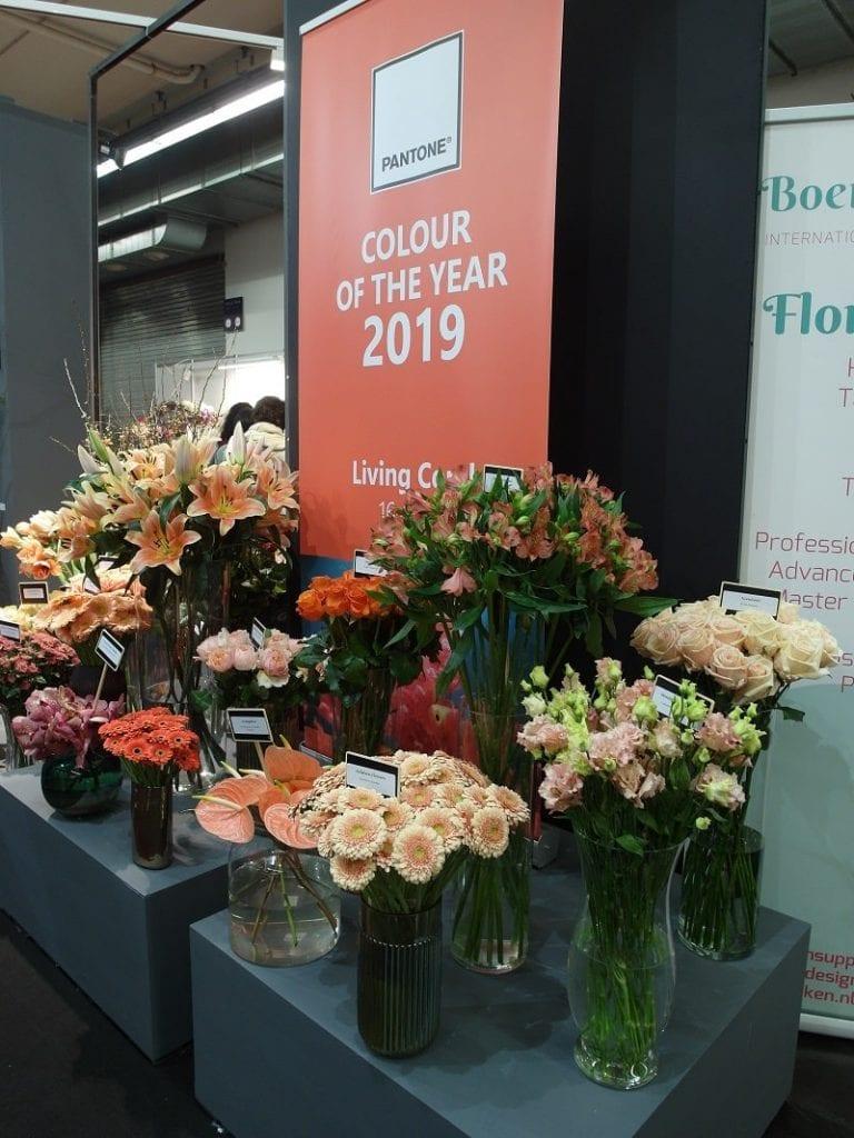Podpowiedź dla florystów – Kolor Roku 2019 i odmiany kwiatów ciętych w tym kolorze