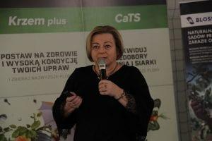Barbara Sałata z Centrum Doradztwa Rolniczego w Radomiu omówiła warunki przetwarzania płodów rolnych i możliwości ich sprzedaży