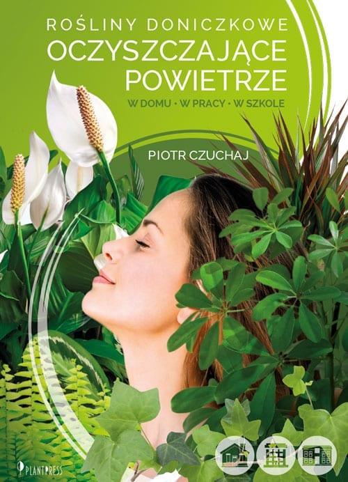 Rośliny oczyszczające powietrze - okładka ksiązki