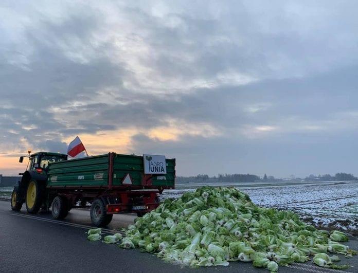 Protesty rolnicze Agrounia 2019