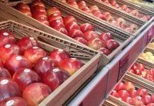 Ceny jabłek na koniec grudnia