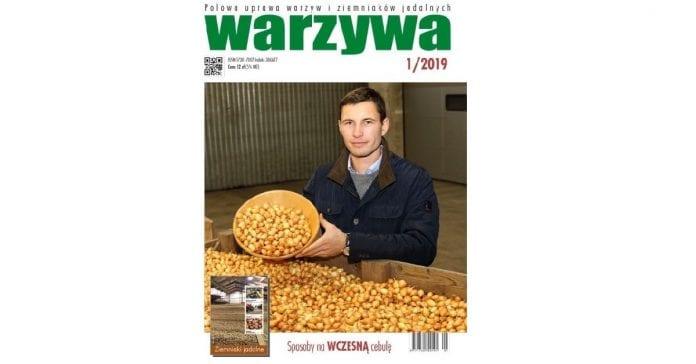 Okładka czasopisma warzywa numer 1/2019