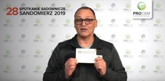Komunikat sadowniczy PROCAM z 22 stycznia 2019