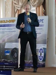 Krzysztof Zachaj z Agrosimex mówił o budowaniu jakości owoców poprzez nawożenie-min