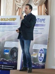 Jacek Preuss z Sumi Agro przybliżył ofertę produktów do ochrony upraw jagodowych
