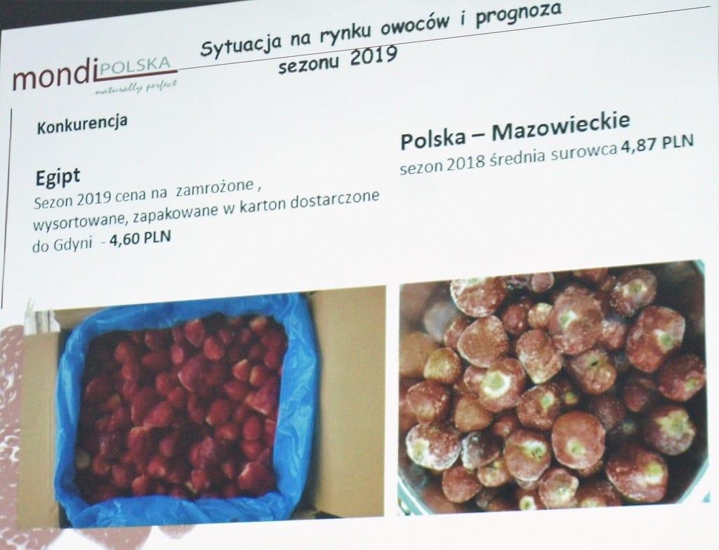 Drottson (Mondi Polska) - porównanie mrożonki z Egiptu i Polski