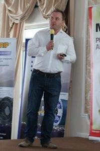 Sławomir Doniec z Nufarm przedstawił ofertę firmy dedykowaną do ochrony roślin jagodowych