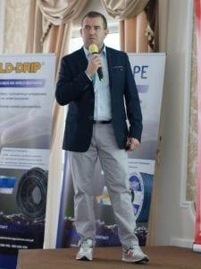 O zarządzaniu nawadnianiem i fertygacją mówił Mariusz Byliniak z Agrosimex