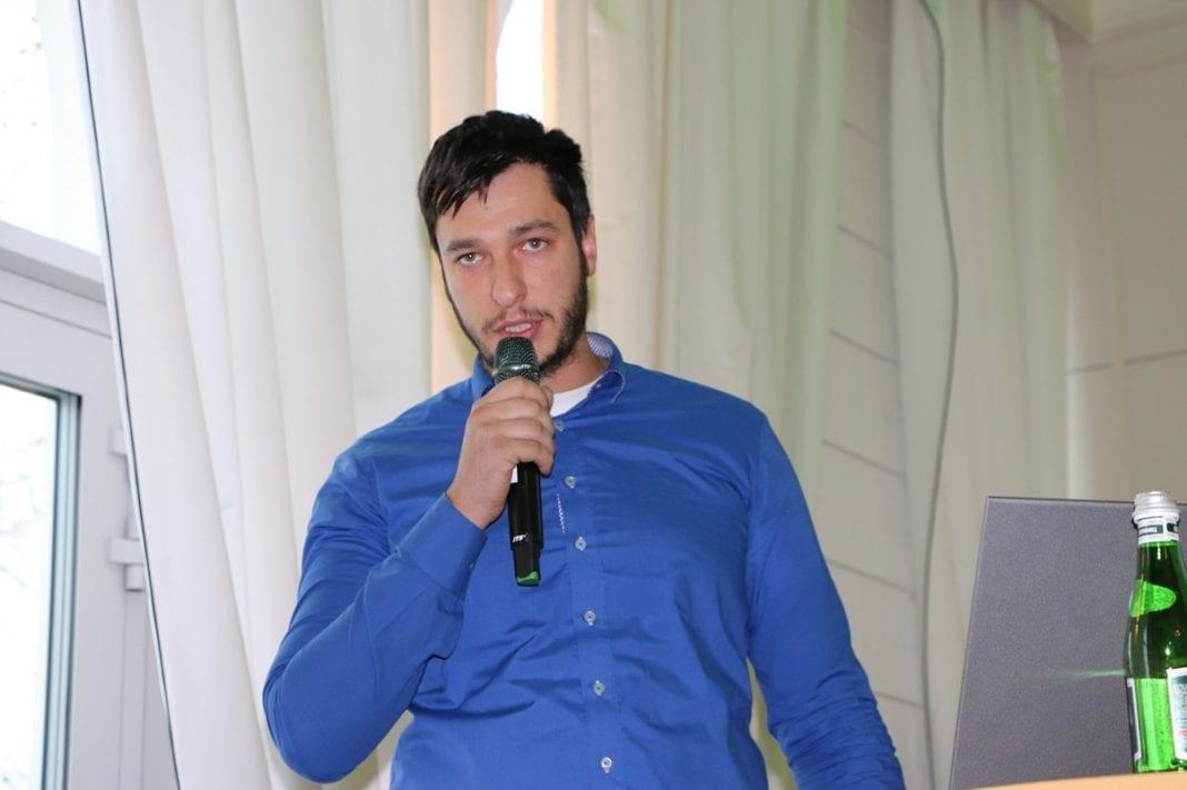 Karol Szulc z firmy Agrosimex