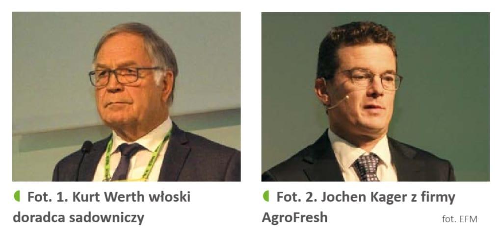 Kurt Werth (fot. 1) i Jochen Kager (fot. 2)