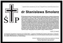 Zmarła dr Stanisława Smolarz, wieloletni pracownik Pracowni Entomologii Instytutu Sadownictwa i Kwiaciarstwa w Skierniewicach