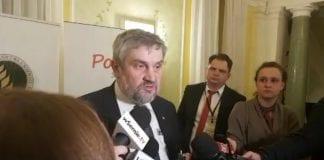 Minister Ardanowski komentuje sprawę firmy Eskimos