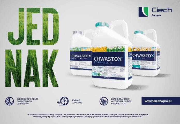Jednak CHWASTOX kampania reklamowa