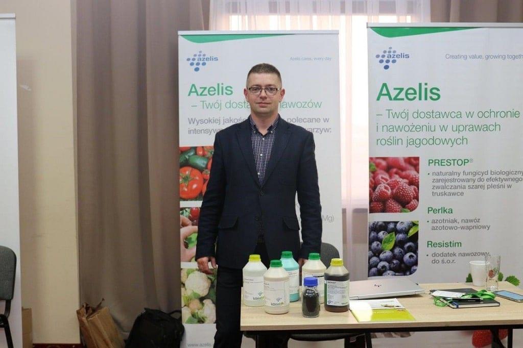 Marek Łada z firmy Azelis