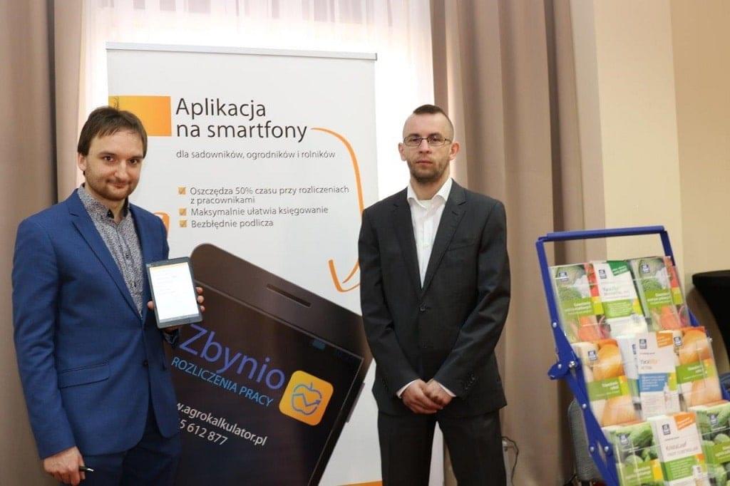 Radosław Kowalski i Wiktor Grześkiewicz z firmy Zbynio